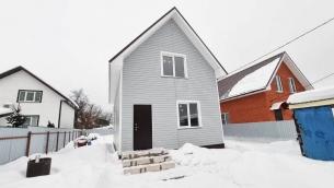 Дом 130м² (пеноблоки). Участок 4.5 соток - 6.500.000 руб. (с.Балобаново)
