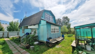 Дача 60м² (каркасно-щитовой). Летняя кухня. Участок 9 соток - 1.150.000 руб.